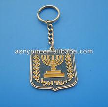 Metal custom enamel promotion keychain Factory In Gongguan China
