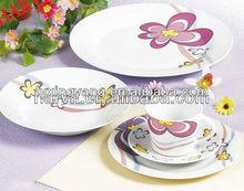 porcelain tableware for restaurant,unique restaurant tableware, luxury porcelain tableware