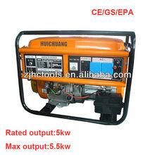 low price honda engine 13hp 5kw gasoline generator with competetive price