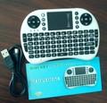 Mini portatile 2.4 ghz wireless bianco 92 tastiera con tasti touchpad tastiera mouse combo