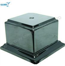 Square customized wood trophy base