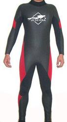 3mm Men's Scuba Diving Wetsuit - Large - Black Yellow