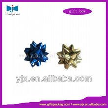 Christmas Mini Metallic Star Bows Assorted