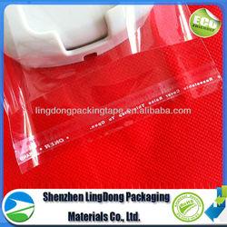 A+ OPP PE plastic bag self-adhesive flap opp header bag plastic bag raw material