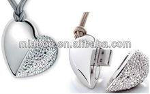 4GB Romantic Lover heart usb pen, pure usb heart, full capacity high speed jewelry usb 2.0 everlasting love usb flash memory