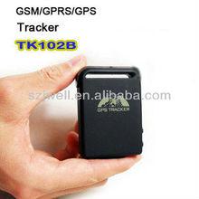 Car GPS Tracker Car Vehicle Quad Band GSM GPRS TK102-B with Memory