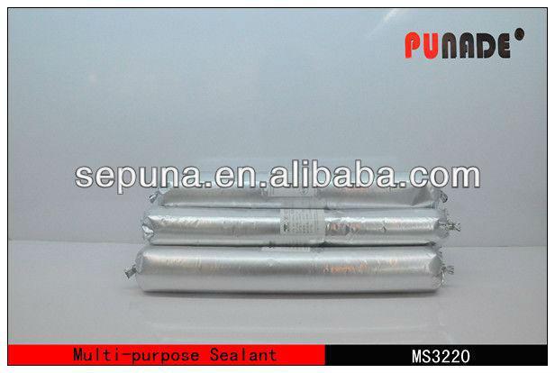 High quality MS Polymer silicone sealant for Autoglass/paper asphalt roof felt adhesive sealant