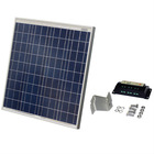 Solar Panel 60W Poly Crystalline 12V Solar Cells with Controller and Hardware