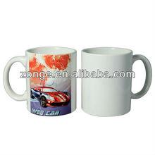 Personal Gifts sublimation ceramic white blank mug wholesale