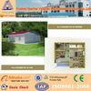 mini modular homes prefab flat roof house