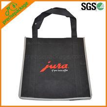plain pp non woven shopping bag with customer logo printed