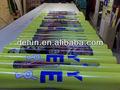 Pvc imprimables adhisive sticker vinyle, revêtements de sol en vinyle adhésif auto