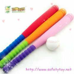 fancy colorful baseball bats, sport baseball toss machine toys Amercian pass-time toy