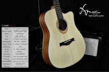 Amari cutaway Acoustic guitar AM-4188C , 36 inch guitar