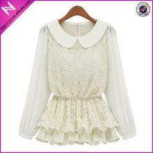 wholesale lace long patch work blouse designs