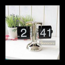 SONOCORE RETRO METAL STAND FLIP CLOCK