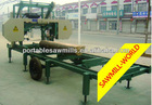Manufacture Direct Sale !!! Diesel Portable Bandsaw Sawmill Used In Tropical Rainforest