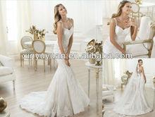 Robe de mariée de mariée POW-293 nouvelle mode robe de mariée 2013