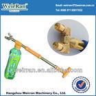 (71298) rotating flit-style sprayer brass double nozzle mist watering spray gun