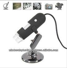 High Resolution 1.3 Mega Pixel USB Mini Digital Microscope (20x-200X)(WCS-02)