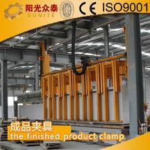 sunite professinal AAC brick making machine line /AAC BLOCK MAKING MACHINE - the finished product clamp