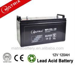 12V 120ah battery high quality Lead Acid Gel Battery For Solar System Deep Cycle Dry Solar Cell