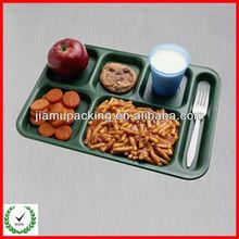 plastic christmas trays food