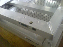 2012 Hot sell aluminum crowd control barrier applied in fairs