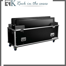 New Design Lifting Flight Cases For 52inch- 65inch LCD With Wheels