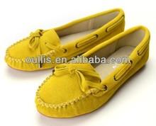 shoes Guangzhou women flats with shoe lace PF2572