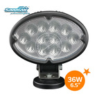 "6.5"" 36W Led Work Bench Light Led Portable Work Light 12V Led Magnetic Work Light SM6365"
