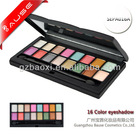 Makeup factory offered 16 color eye shadow makeup palette