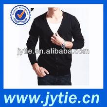 Black Color Man Cardigan Sweater