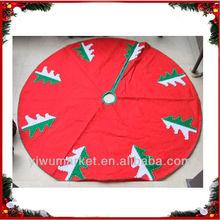 hottest christmas tree maxi red skirts christmas decoration china wholesale