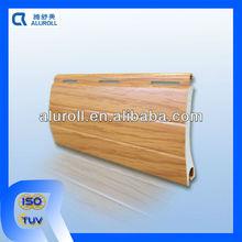 Fifteen standard colors aluminum rolling shutter blinds slats
