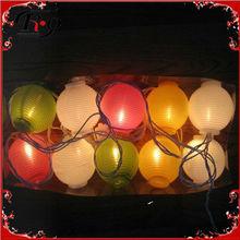 mini light birthday paper lanterns