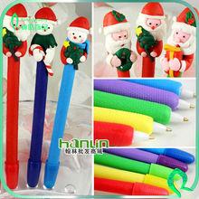 Children Gift Santa Claus Ornament New Design Fashion Christmas Pens