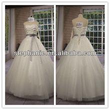 (A6911)Beatiful Wedding Dress For Mature Women
