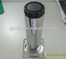 40mm diameter iron chrome flexible barrel bathroom furniture foot