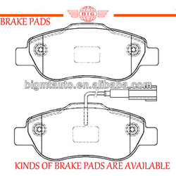 BOSCH systemized front axle oem brake pad for FIAT series saloon car