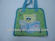 Lovely CARTOON reusable Handled CANVAS Shop Bags