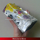 plastic bag with zipper for dog treat,stand up pet food bag