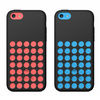 Hollow hole dots pc Cell phone Mobile phone Case for iPhone 5C Punctate Gel Shell Holes Cover