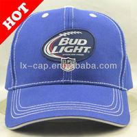 Promotional custom 6 pannel baseball caps, cotton cap