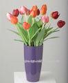 Sj alta qualidade lifelike mini-artificial tulipa flor