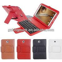 New Fashion Hot Selling Bluetooth Keyboard Case For Samsung Galaxy Note 8 N5100 N5110