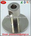 Oem de China Dongguan de acero inoxidable de cnc de mecanizado de piezas, Espejo pulido M4 de acero inoxidable roscado de sujeción