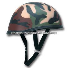 Motorcycle Novelty Helmets, Novelty Helmets, Matt Finish Helmets, Shine Finish Helmets, Leather Covered Helmets