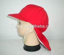 printed child summer visor hat
