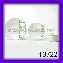12 pcs lead free cadmium free dinnerware